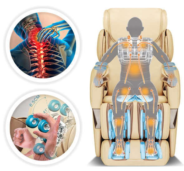Fauteuil de massage iComfort Osimo Type