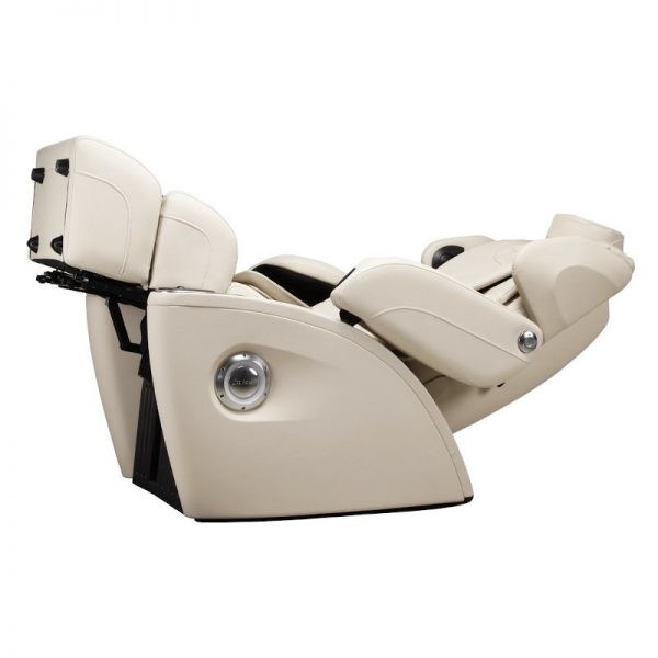 Fauteuil de massage iComfort Sora Ivoire Zéro Gravité